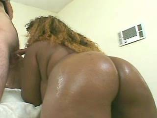 Fat ebony lady fucks and gets cum in groupsex