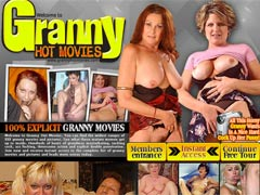 Granny Hot Movies! Watch huge collection of grannies! These oldies know now to fuck!